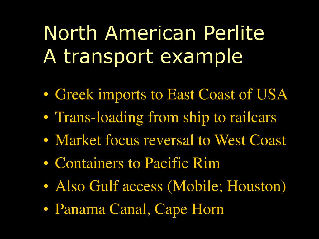 North American Perlite