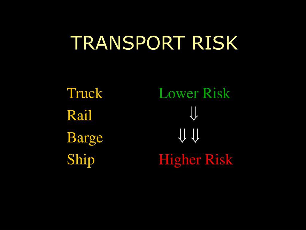 TRANSPORT RISK