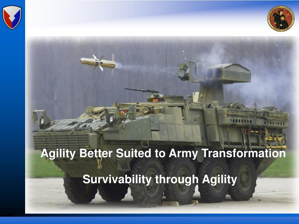 Agility Better Suited to Army Transformation