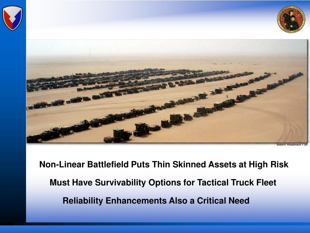 Non-Linear Battlefield Puts Thin Skinned Assets at High Risk