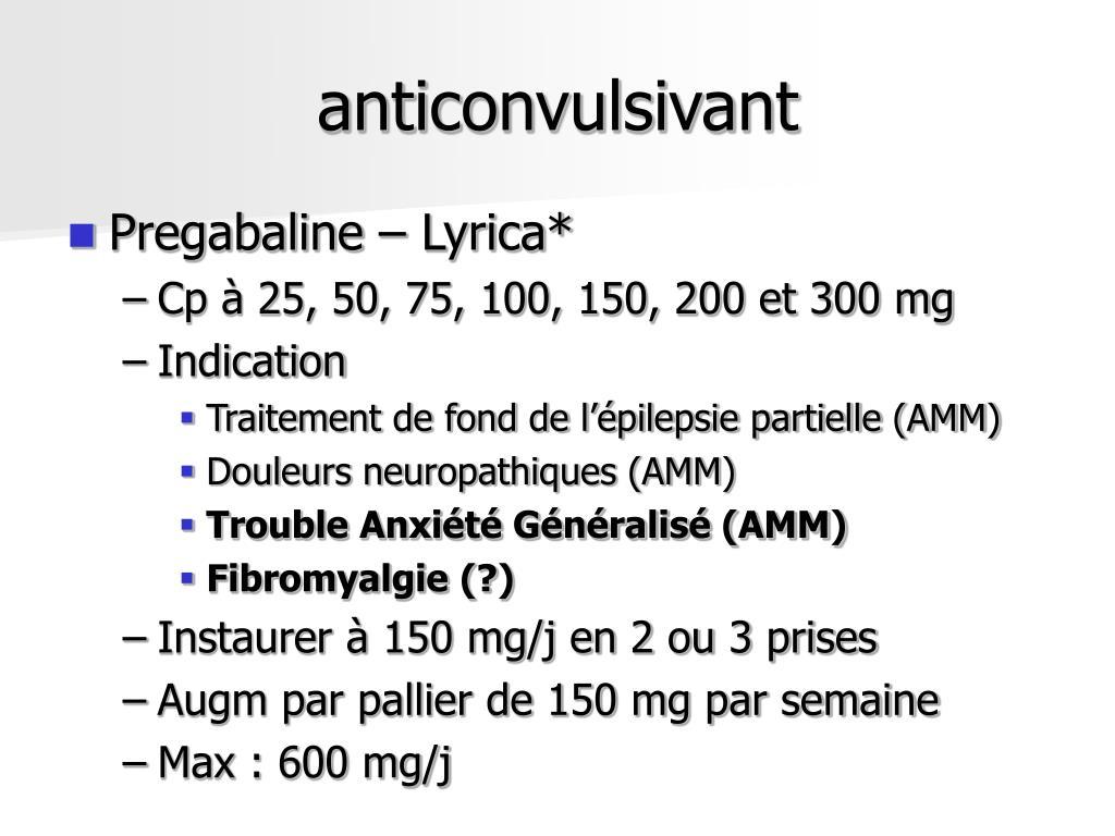 anticonvulsivant