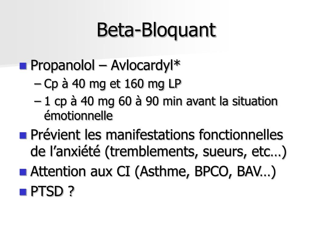 Beta-Bloquant