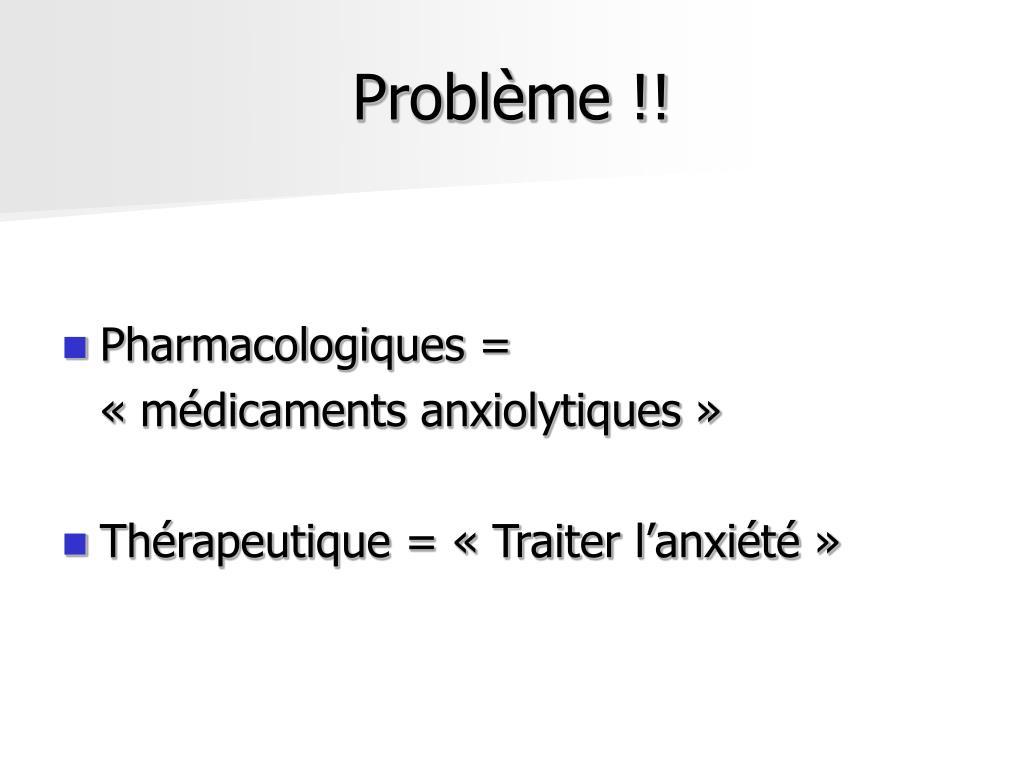 Problème !!