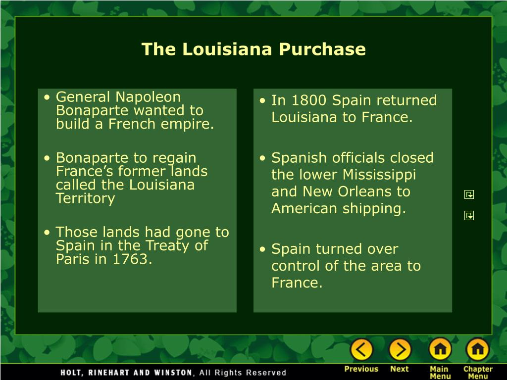 General Napoleon Bonaparte wanted to build a French empire.
