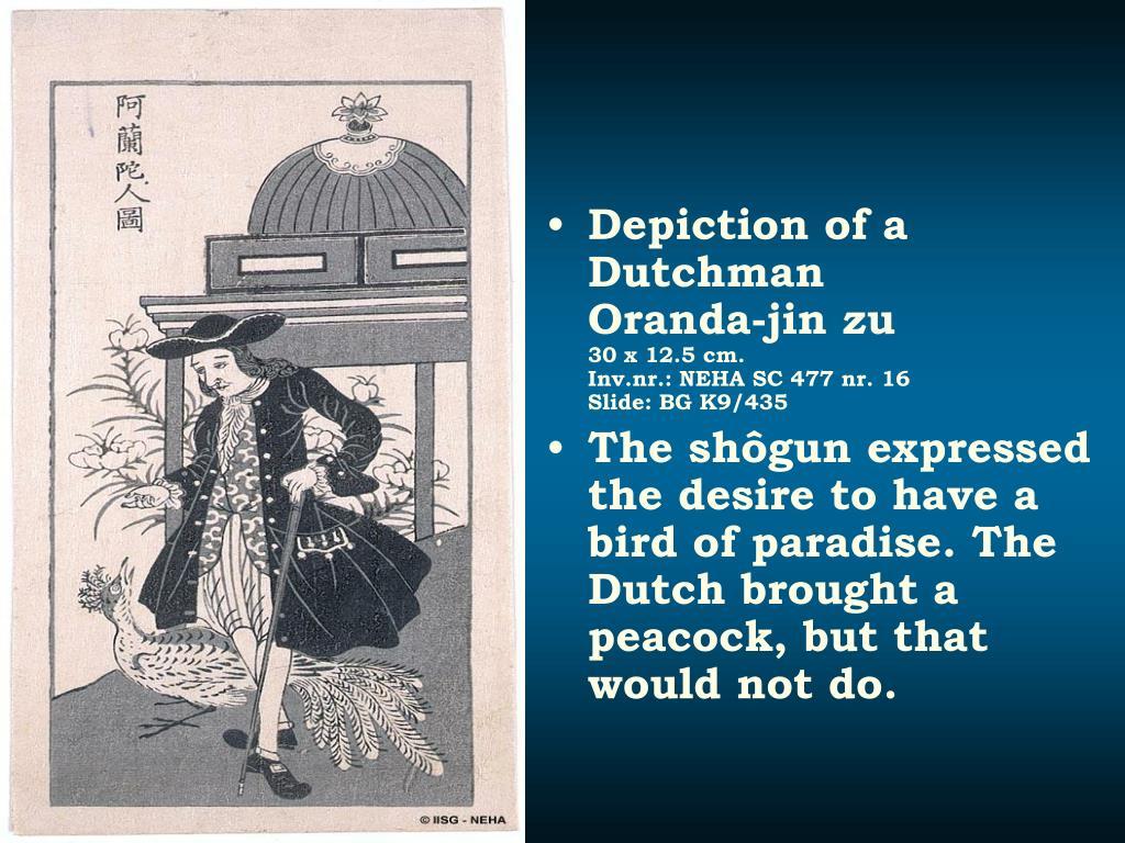 Depiction of a Dutchman