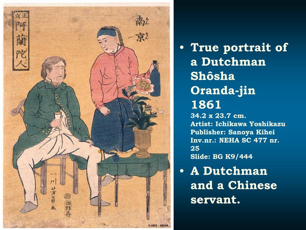 True portrait of a Dutchman