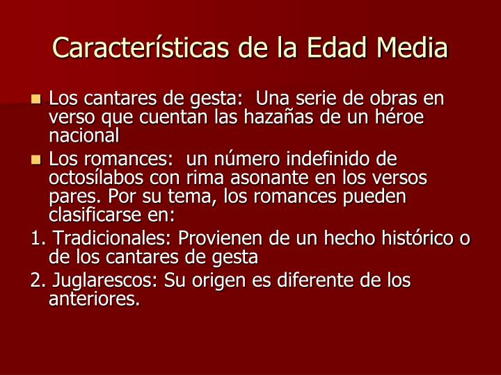 Caracter sticas de la edad media3