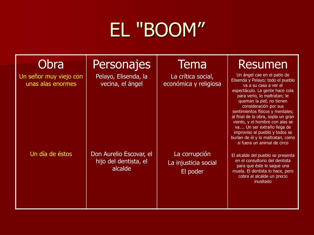 """EL """"BOOM"""""""