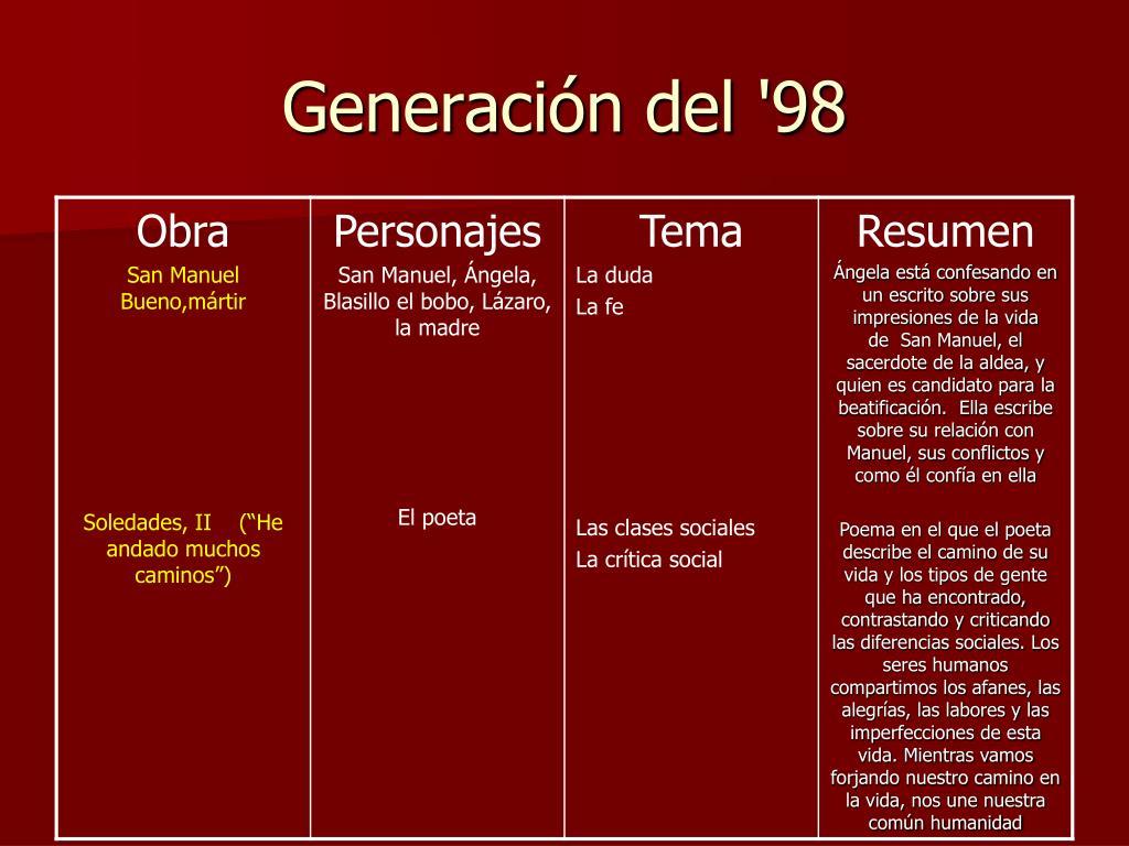 Generación del '98
