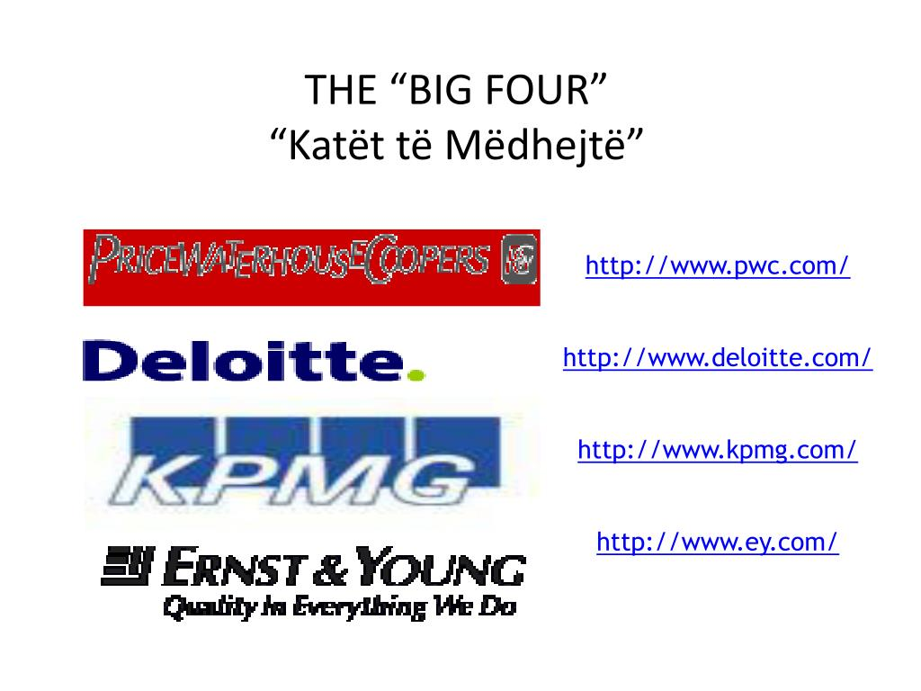 "THE ""BIG FOUR"""