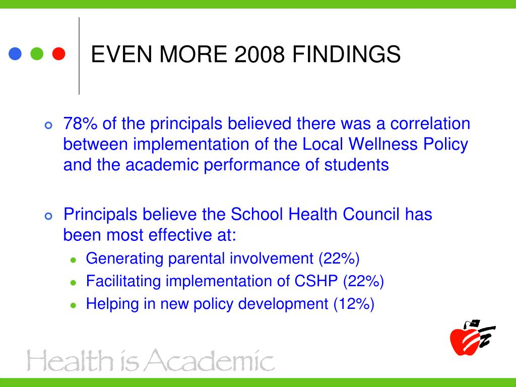 EVEN MORE 2008 FINDINGS