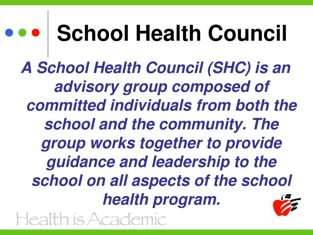 School Health Council