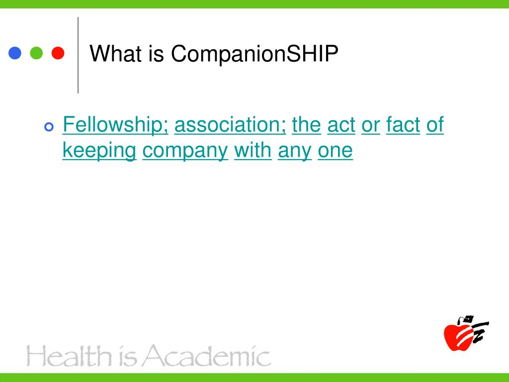 What is CompanionSHIP