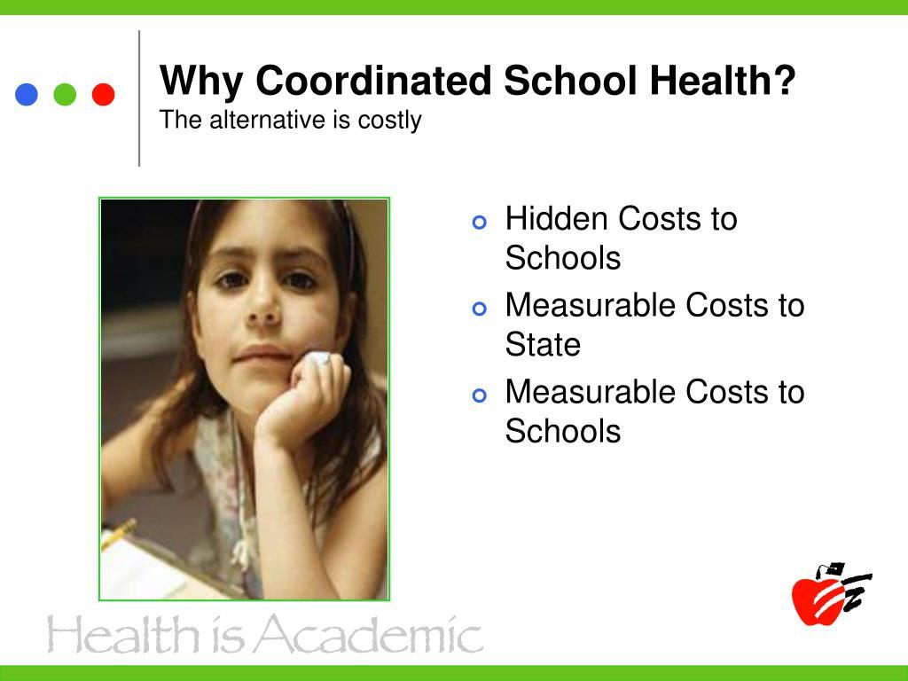 Hidden Costs to Schools