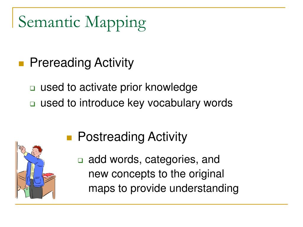 Semantic Mapping