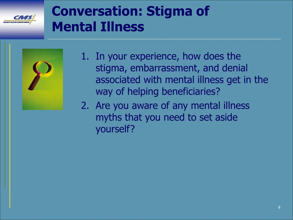 Conversation: Stigma of