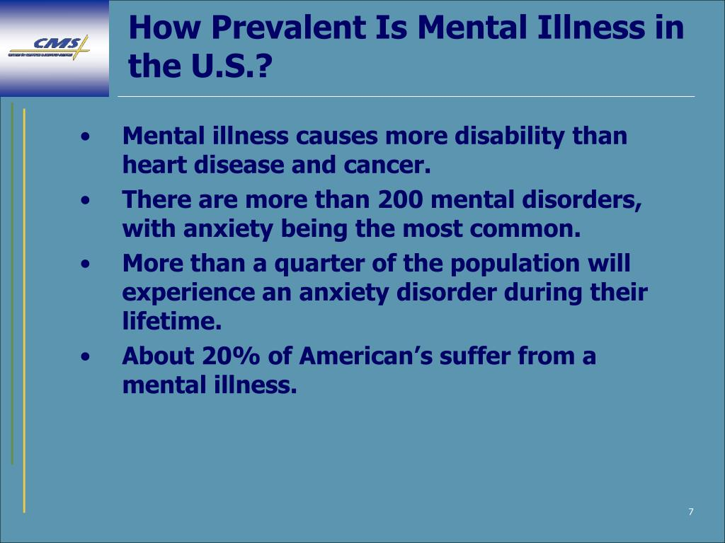 How Prevalent Is Mental Illness in the U.S.?