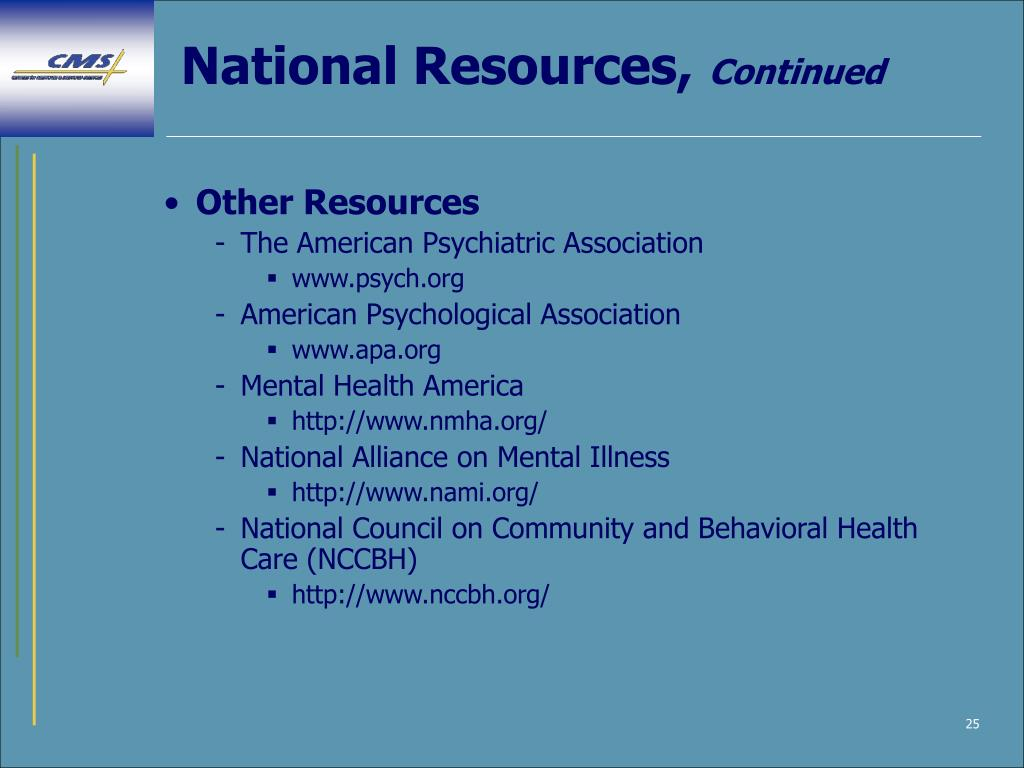 National Resources,