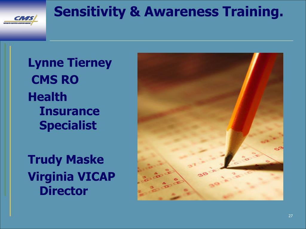 Sensitivity & Awareness Training.
