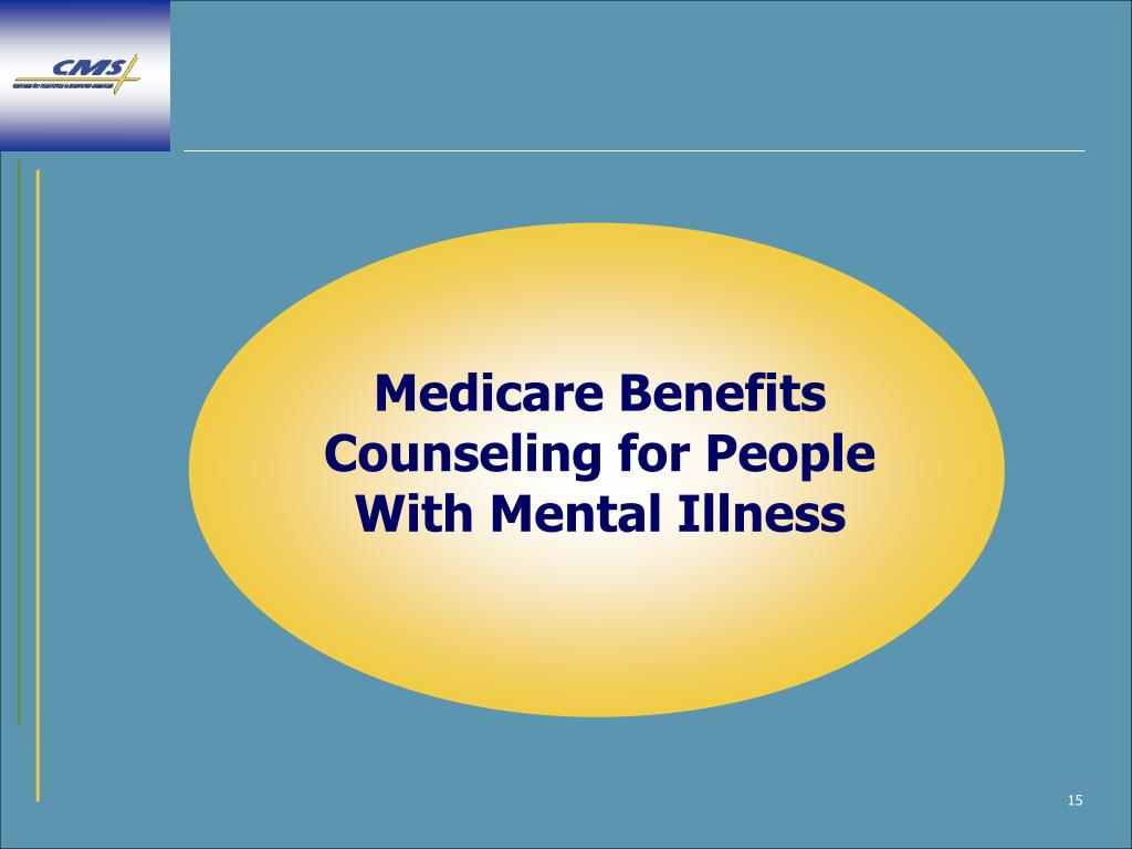 Medicare Benefits Counseling for People With Mental Illness