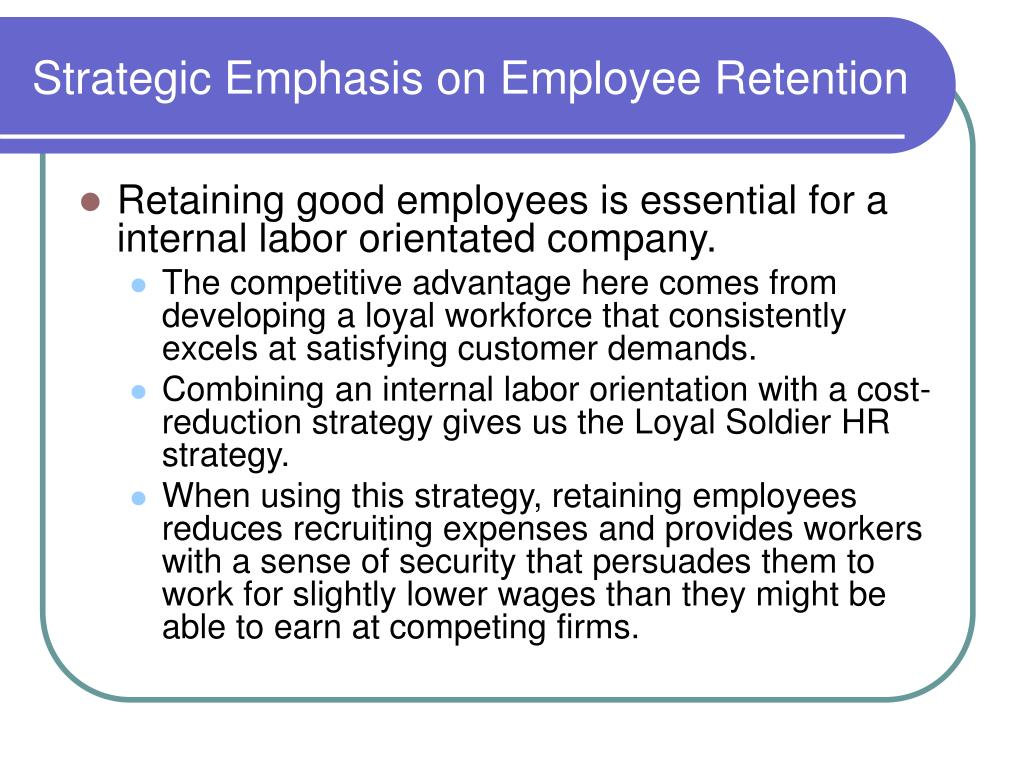 Research paper on employee retention