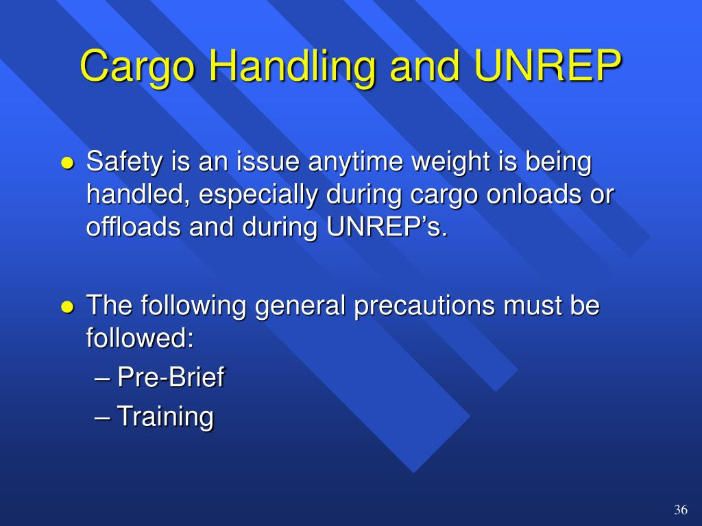 Cargo Handling and UNREP