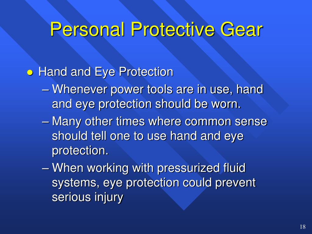 Personal Protective Gear
