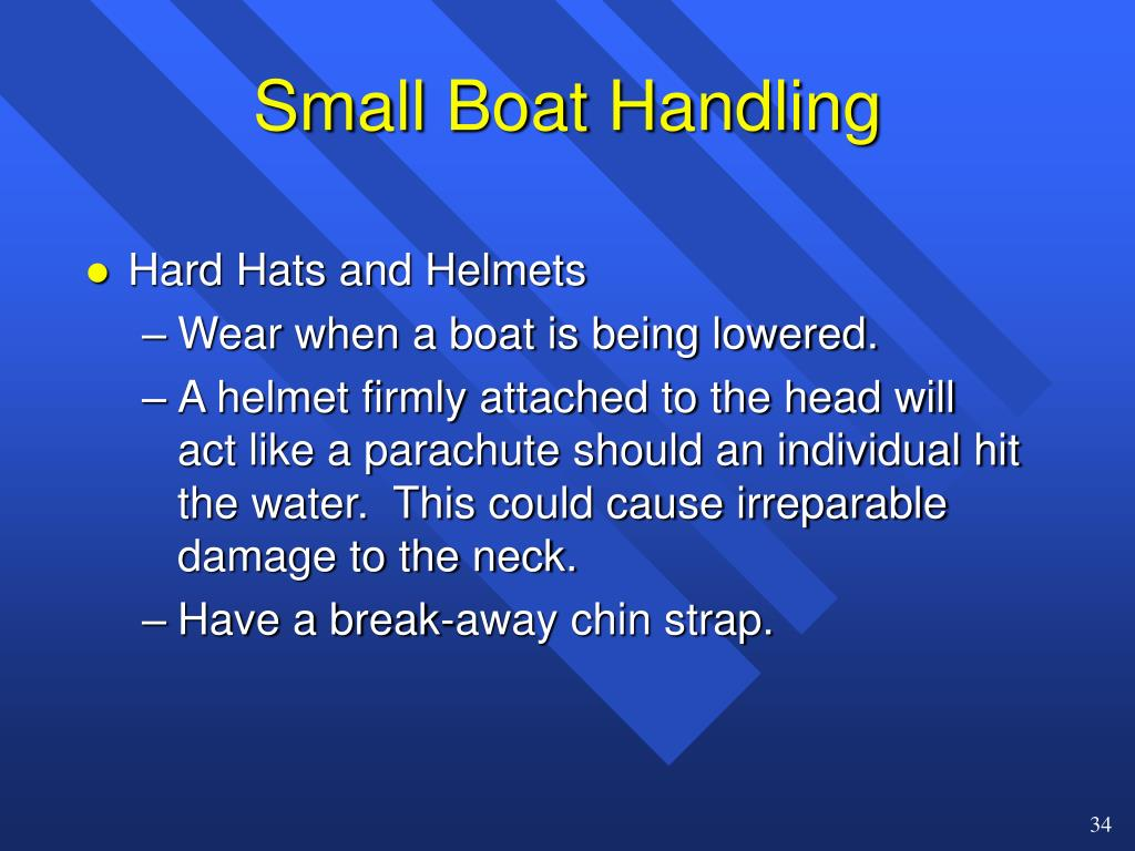 Small Boat Handling