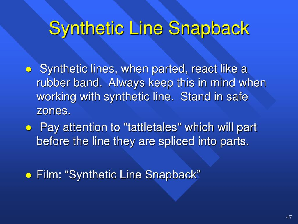 Synthetic Line Snapback