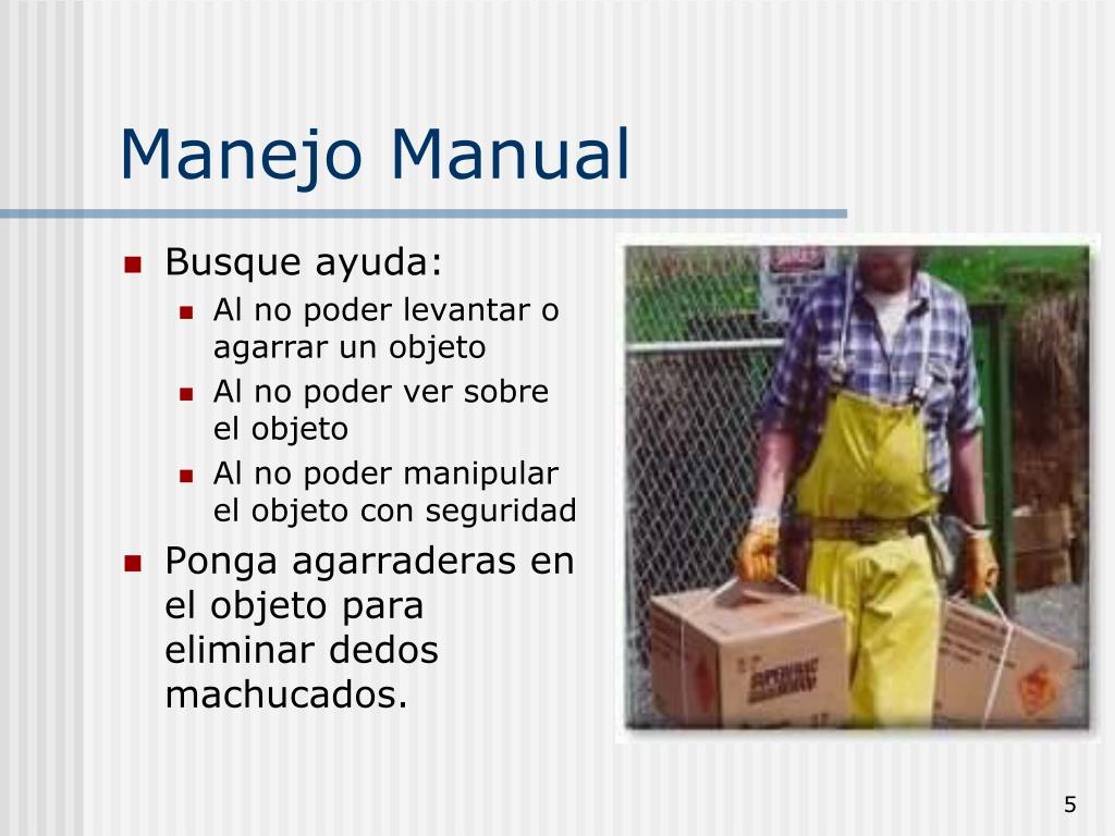 Manejo Manual