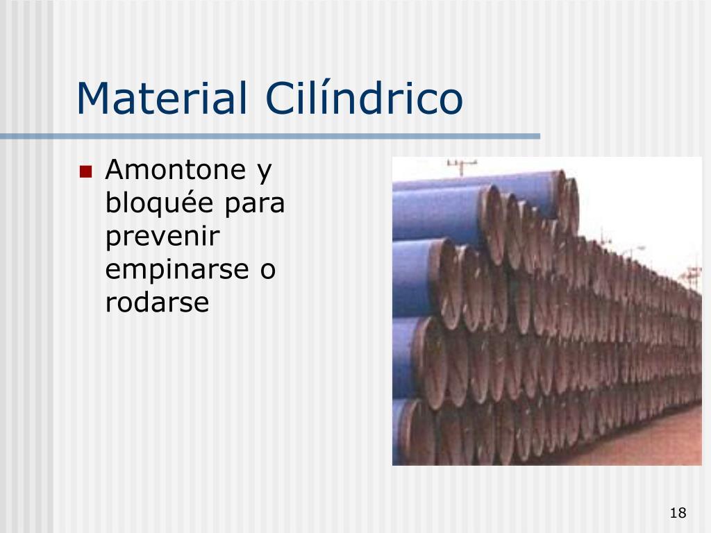 Material Cilíndrico