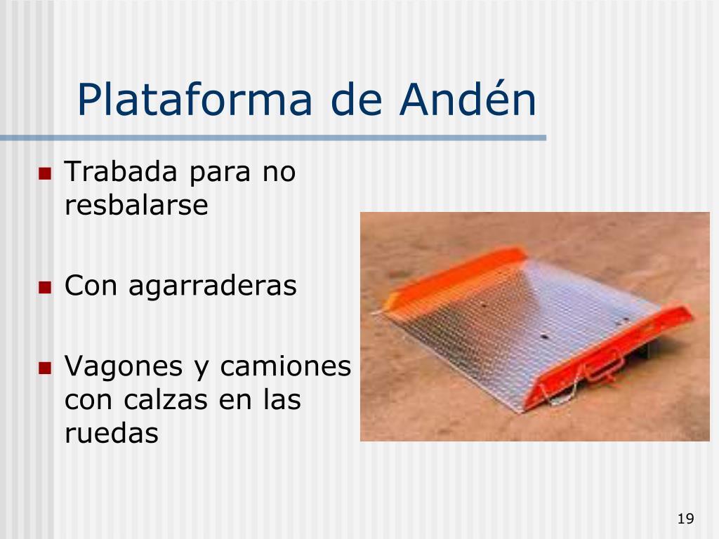 Plataforma de Andén