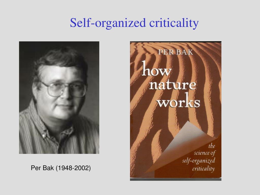 Self-organized criticality