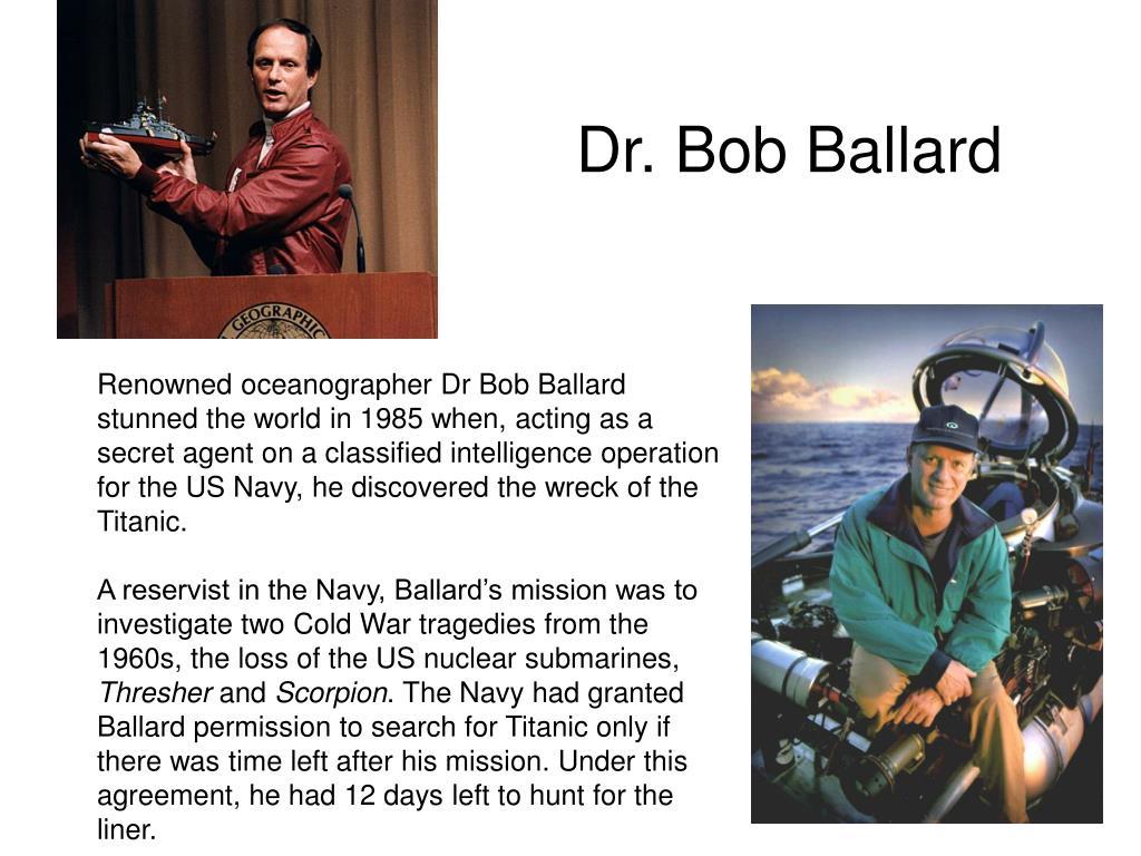 Dr. Bob Ballard