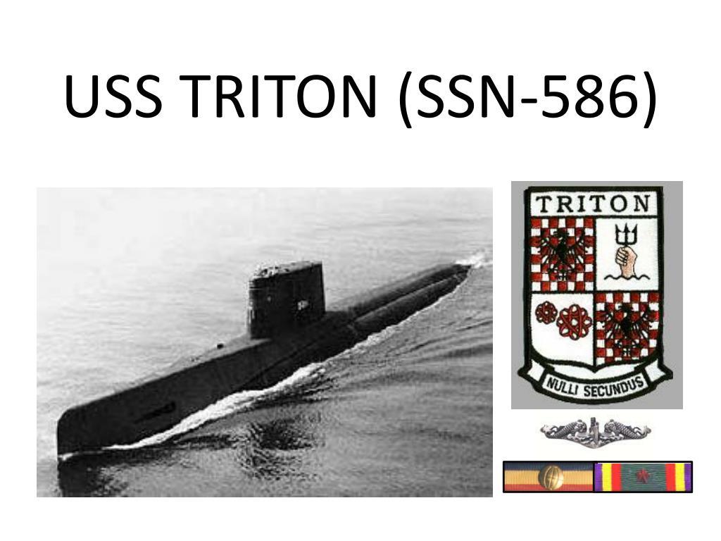 USS TRITON (SSN-586)