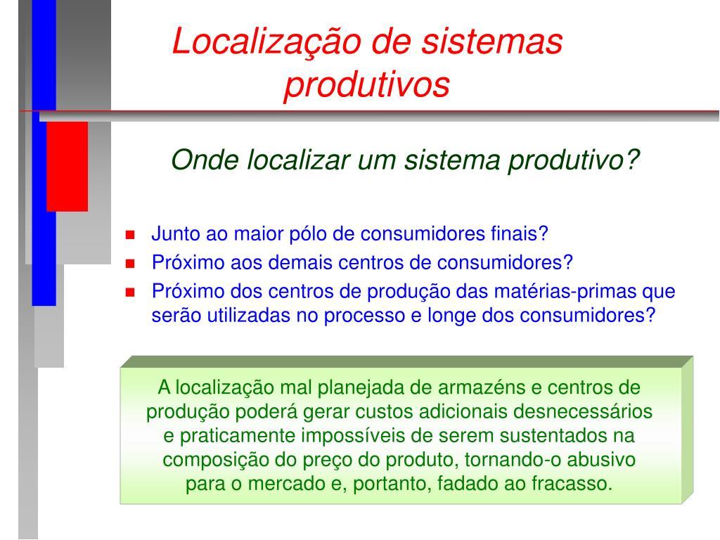 Localização de sistemas