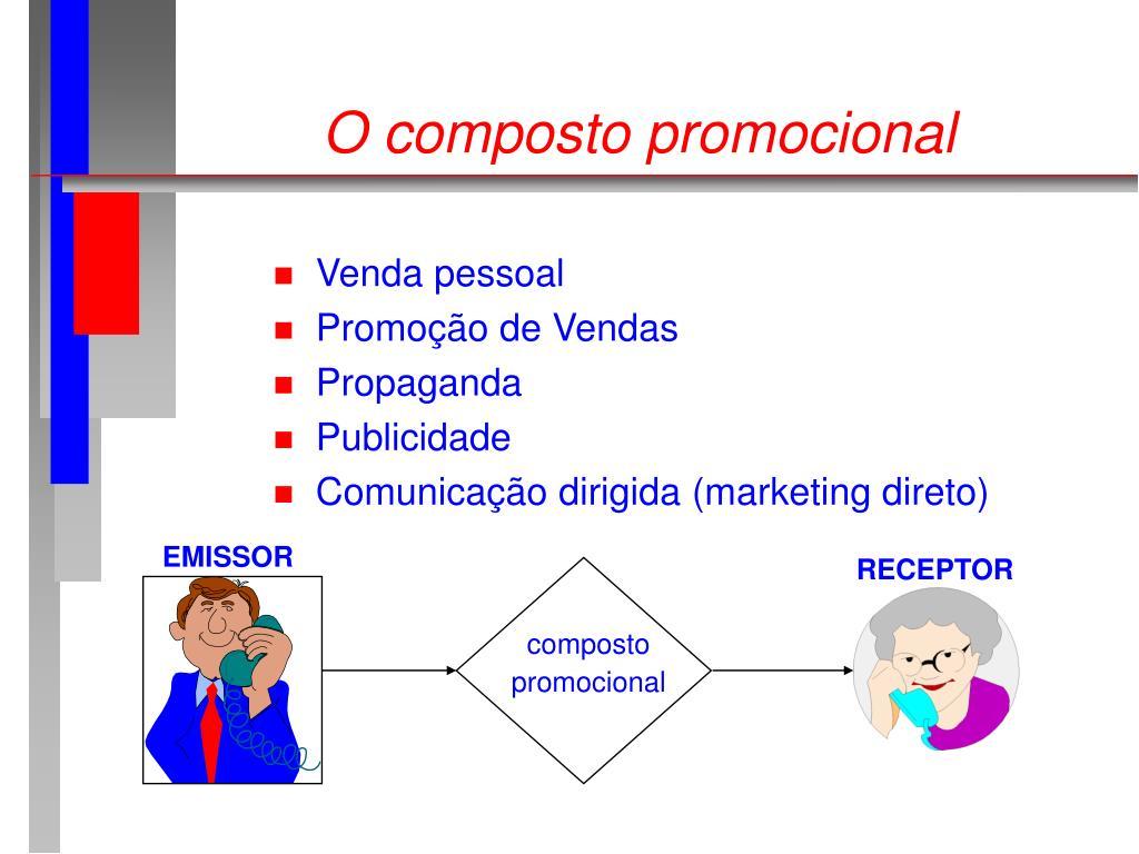 O composto promocional