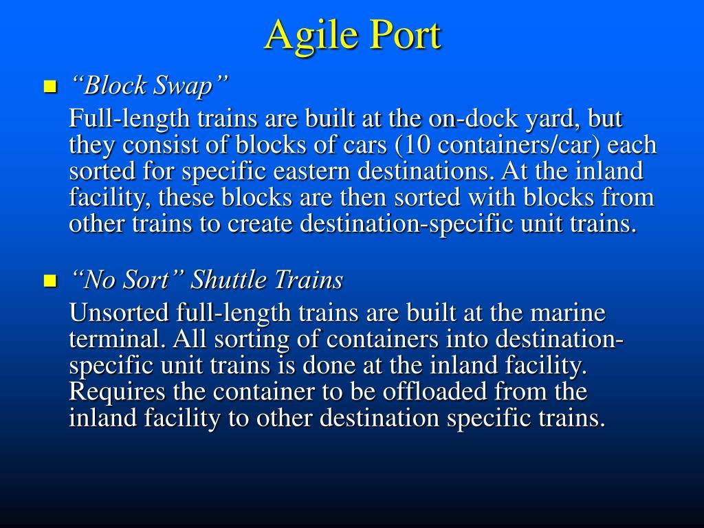 Agile Port
