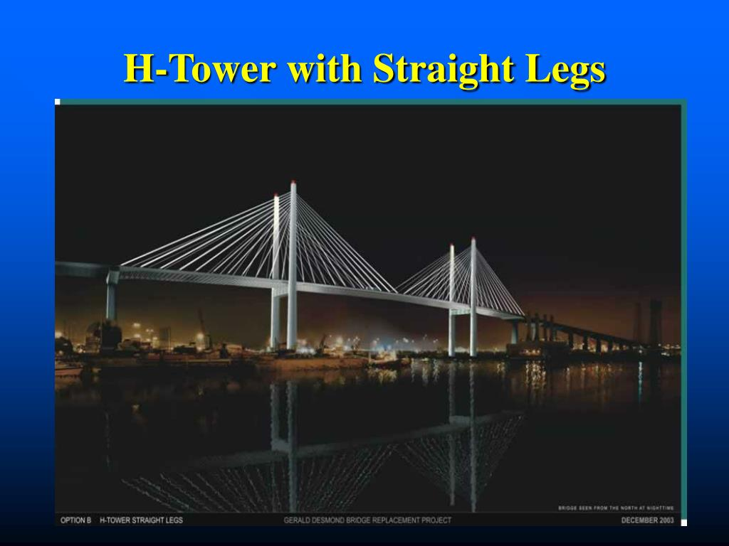 H-Tower with Straight Legs