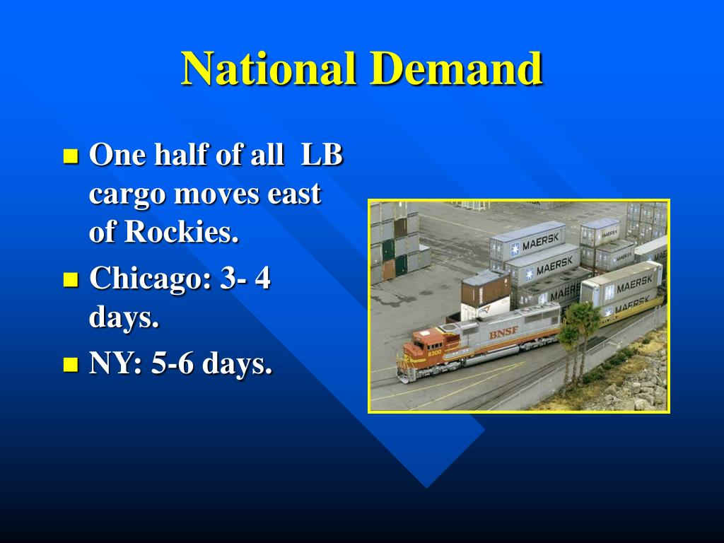 National Demand