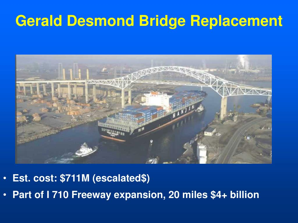 Gerald Desmond Bridge Replacement
