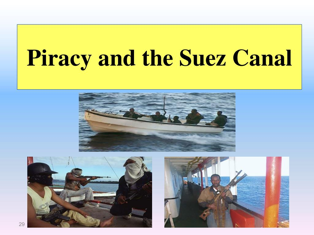 Piracy and the Suez Canal