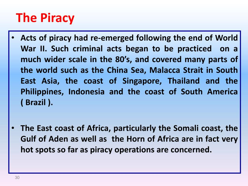 The Piracy