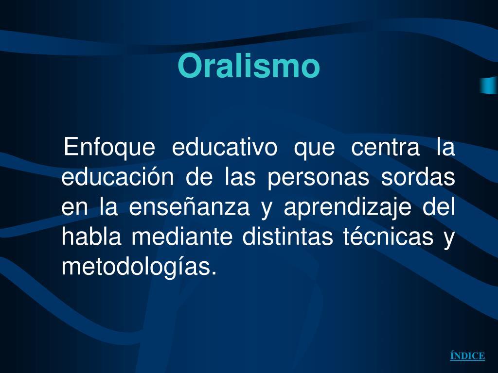 Oralismo