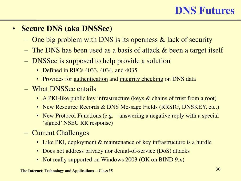 DNS Futures