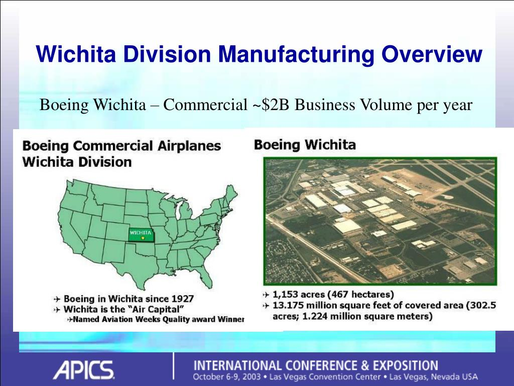 Wichita Division Manufacturing Overview
