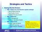 strategies and tactics12
