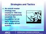 strategies and tactics9