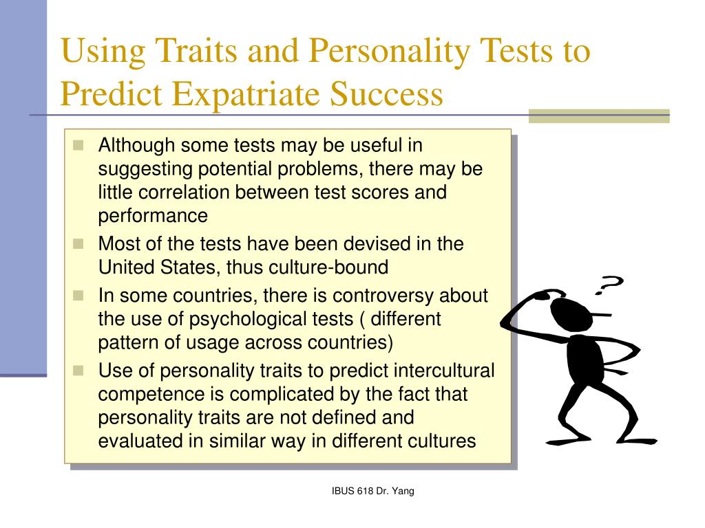 the benefits of using personality tests The beginnings the myers-briggs type indicator, the most widely used personality test in the world today, is based on the theory of psychological types that carl jung described in his 1921 book, psychologische typen.