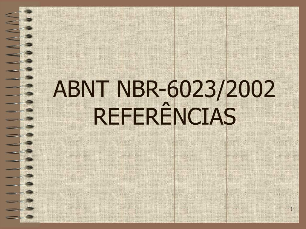 ABNT NBR-6023/2002